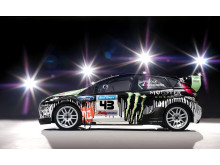 Ken Block kör svenskbyggd Monster-Fiesta i Rally America och X Games - bild 1