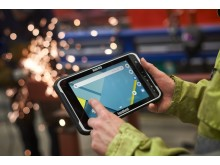 The ALGIZ RT8 ultra-rugged Android tablet can handle hot and cold temperatures