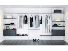 Schmidt-garderobe-walkincloset-oppbevaring-sort-hvid-inspiration