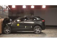 Mazda CX-30 full width impact November 2019