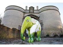 36 elephants arrive at Nottingham