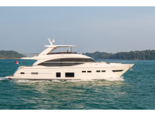 High res image - Princess Motor Yacht Sales - Princess 75 exterior