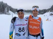 Zebastian Modin, Guide Johannes Andersson SWE