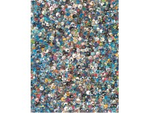 Takashi Murakami, Blue Life Force, 2012