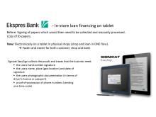 Ekspres Bank luottaa EasySigniin