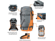 Lowepro_Powder_BP500_Series - Features