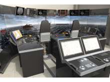 Hi-res image - Kongsberg Digital - K-Sim DP Manoeuvring Trainer – aft deck configuration