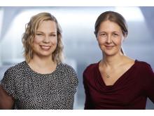 L'Oréal-Unesco For Women in Science pristagare 2016 Kristiina Tammimies samt Annica Black Schaffer