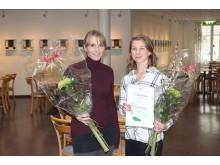 Två av Region Blekinges kulturstipendiater 2015