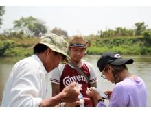 Vannprøvetaking Myanmar