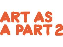 Art as a part logga
