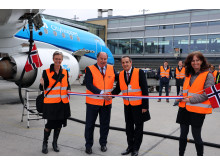 Opening of flights with biojet fuel from Oslo to Amsterdam