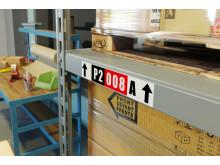 QL-800-malliston etikettitulostimilla teet hyllymerkinnöistäsi erottuvia