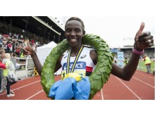 Isabellah Andersson vinner ASICS Stockholm Marathon 2013