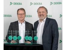 DEKRA brugtbilsrapport 2018 - Peter Mertens, Chef for Teknisk Udvikling i Audi AG, og Erik Wakolbinger, Vice President Sales DEKRA SE
