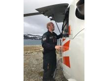 Pilot Niklas Alsterberg of Storm Heliworks AB