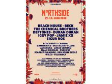 Plakaten til NorthSide 2016