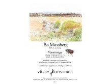Vernissagekort Bo Mossberg 2017