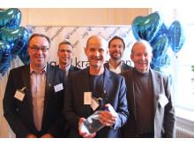 Gullspång finalister i Kranvattentävlingen 2015