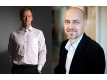 Staffan (CEO) och Per-Anders (CTO)