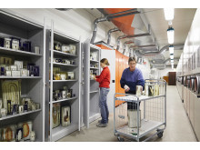 Våtmagasinet på Arkivcentrum Syd, Biologiska Museerna i Lund