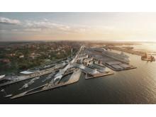 Nya hamnen i Tallinn
