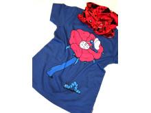 Finsta Polarn O. Pyret t-shirt med hood