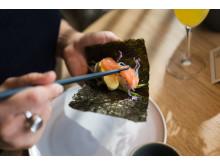Brunch med Temaki sushi