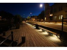 Effektbelysning vid Ronnebyån!