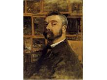 Anton Mauve Zelfportret, ca. 1884-1888 Olieverf op doek, 65 x 43 cm