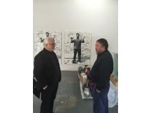 Kaj Forsblom and Ai Weiwei - Foto: Rafaela Seppälä-Forsblom