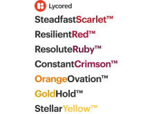 Lycored new colour names image