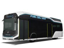 Sora blir namnet på den bränslecellsdrivna elbuss Toyota utvecklat