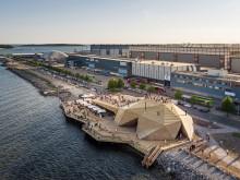 Löyly bastu i Finland av Avanto Architects, ett av de 8 nominerade tävlingsbidragen i Nordic Architecture Fair Award.