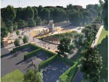 Karlslund lekplats visualisering högupplöst