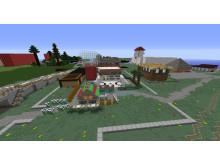 Minecraft-modellen av Tomelilla