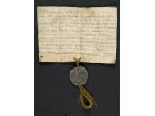 Pave Clemens III.s brev til alle geistlige i Norge 28. januar 1189