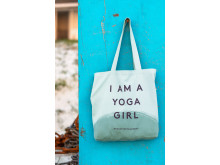 I am a Yoga Girl tote