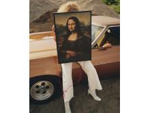 MARKERAD baggrundsbelyst kunstværk 599.-
