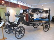 Begravningsmuseet - Gammel rustvogn