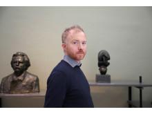 Håkon Anton Fagerås / utformer mynt til Vigelandjubileet