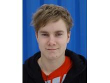 """Simon Hultman, Uppsala, en av finalisterna i """"SM för unga plåtslagare 2011"""""""