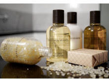 New bathroom amenities by Bottega Veneta at Grand Hôtel Stockholm