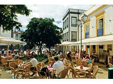 Kafféliv i Ponta Delgada
