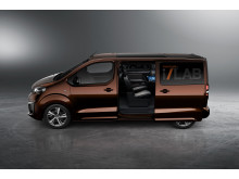 Konceptbilen Peugeot Traveller i-Lab - smart VIP-transport för business