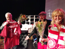Avtackning HuFF-galan 2014, Hasse Backe, Pär Johansson, Pamela Andersson Alselind