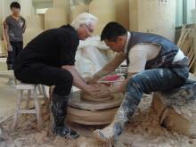 Keramiker Mats Svensson i Kina