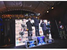 Marcus Kleveland ble verdens første til å gjøre en quadcork i konkurranse. Foto: Process Films / Snowboardforbundet