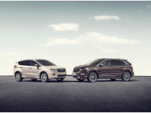 Ford Kuga Vignale och Ford Edge Vignale