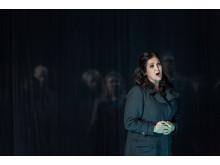 Katarina Karnéus i rollen som Norma på GöteborgsOperan, för vilken hon nu får Svenska Dagbladets Operapris 2018